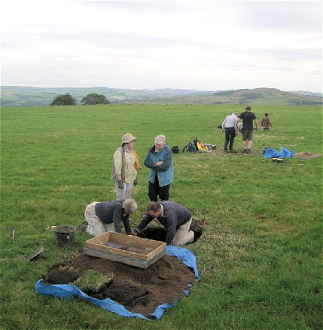 Shaw Cairn Dig 2011